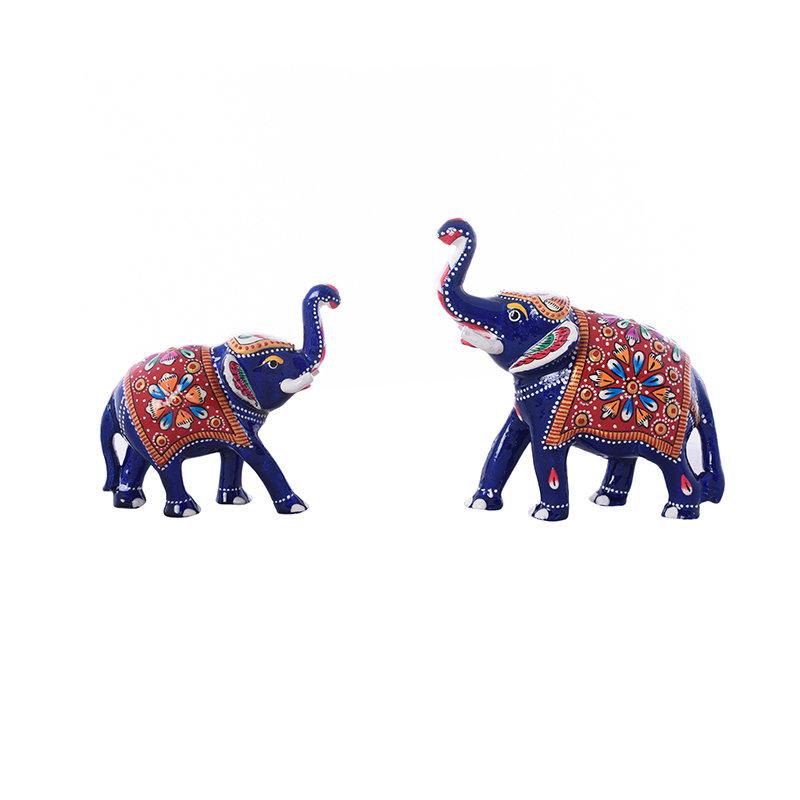 Duo Elephant Figurine