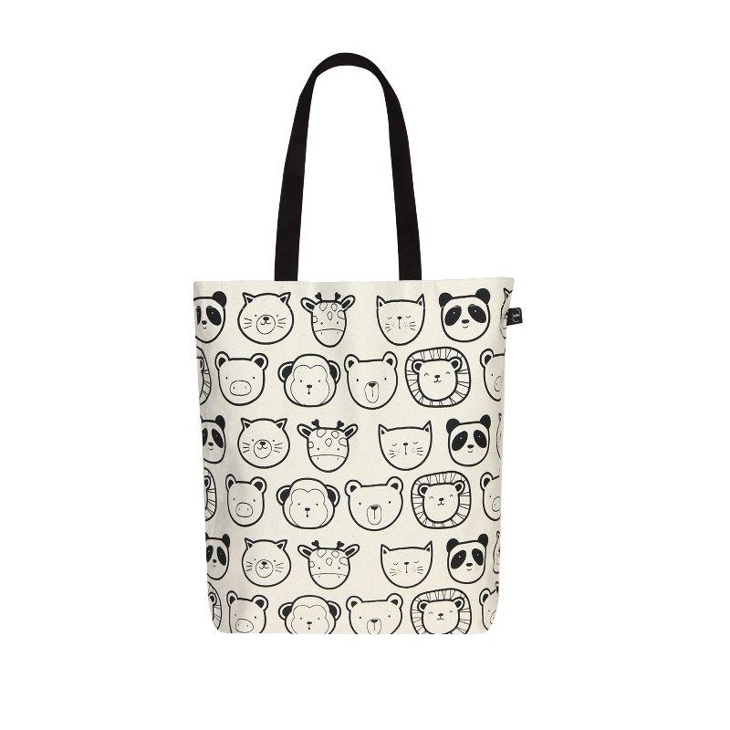 Eccentric Tote Bag: Cute Animals Simple Tote Bag