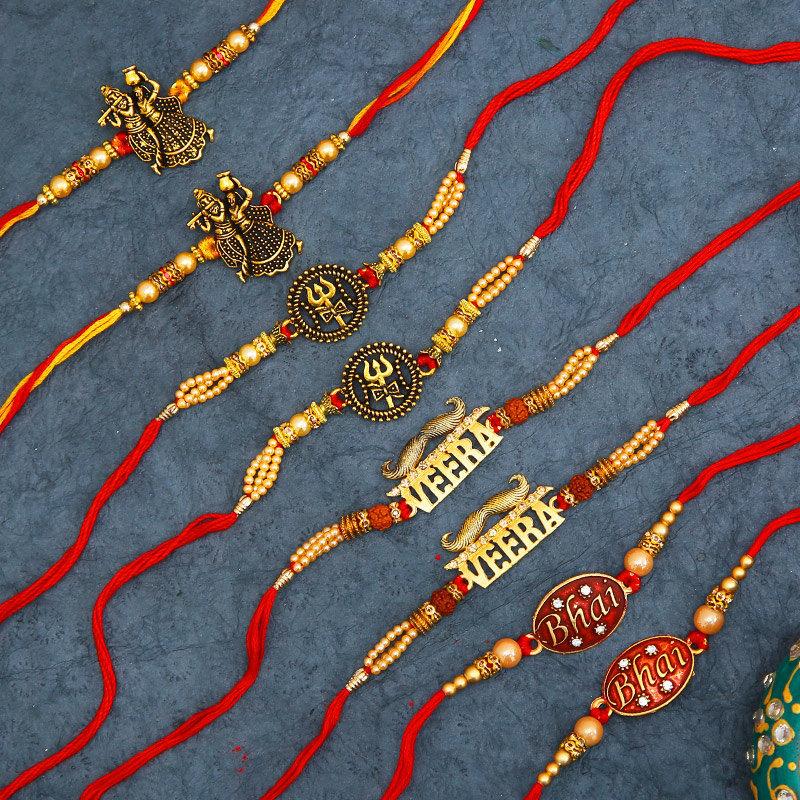 Eight Promising Rakhi Set