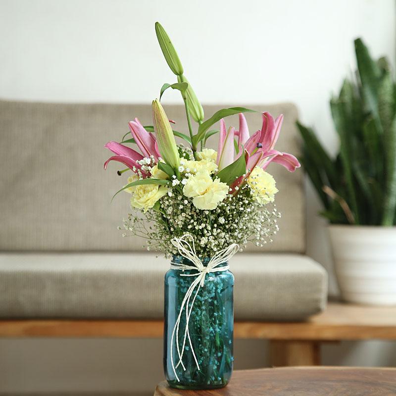 Elegance In A Glass Vase