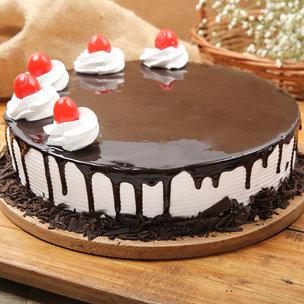 Enthralling Black Forest Delight Cake