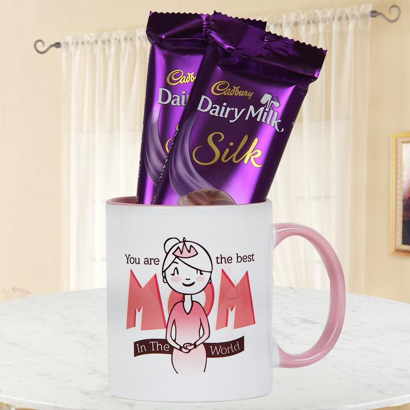 Especially For Mom Mug and Chocolates
