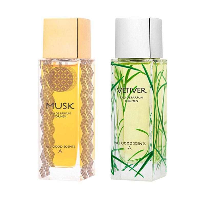 Eternal Garden Giftset For Men Musk + Vetiver Eau de Parfum 2x50 ML
