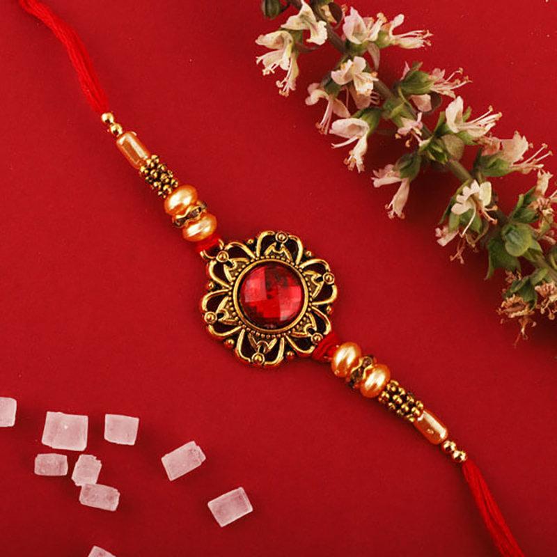 Euphoric Red Rakhi