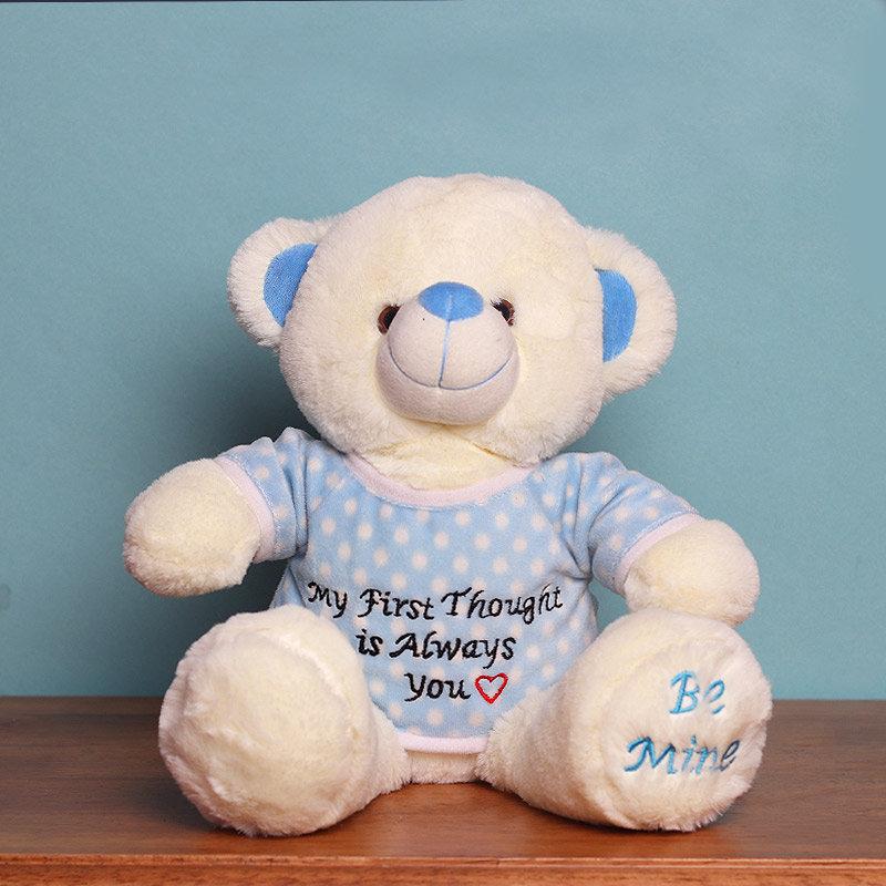 Be Mine White Teddy