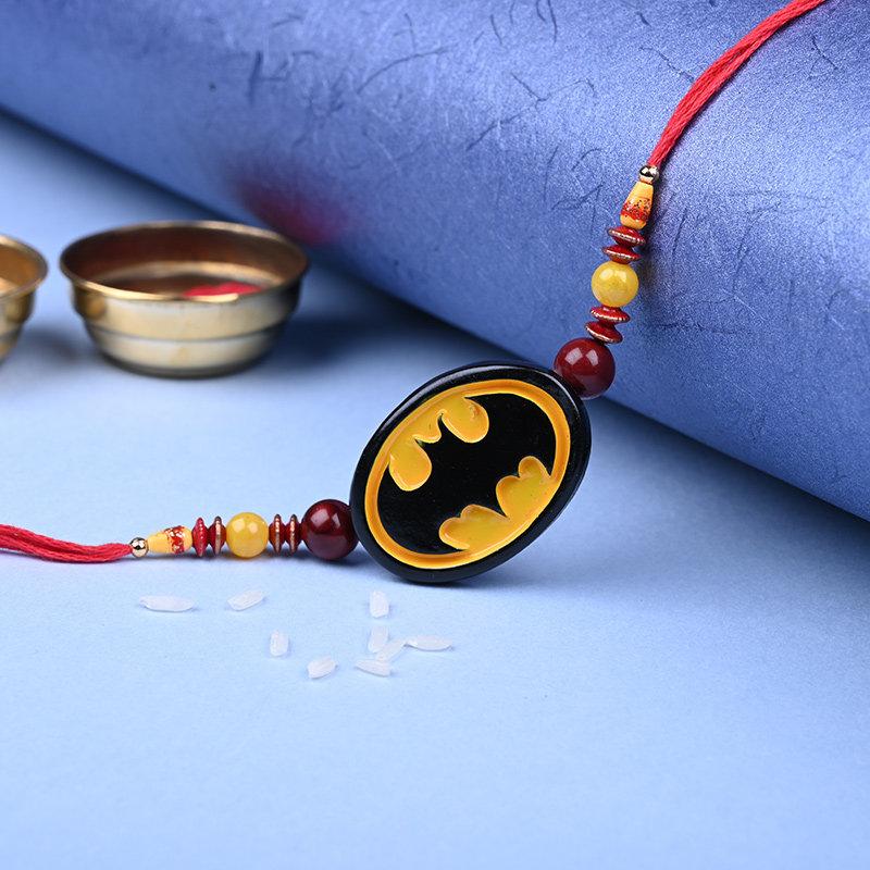 First Product of Exquisite Family Rakhi Pack - Set of Bhaiya Bhabhi Designer Rakhi With Sweets Online