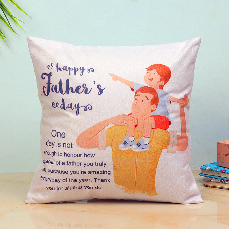 Father's Day Personalised Cushion