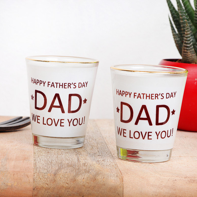 Fathers Day Shot Glasses
