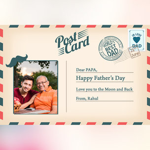 E Postcard for Dad