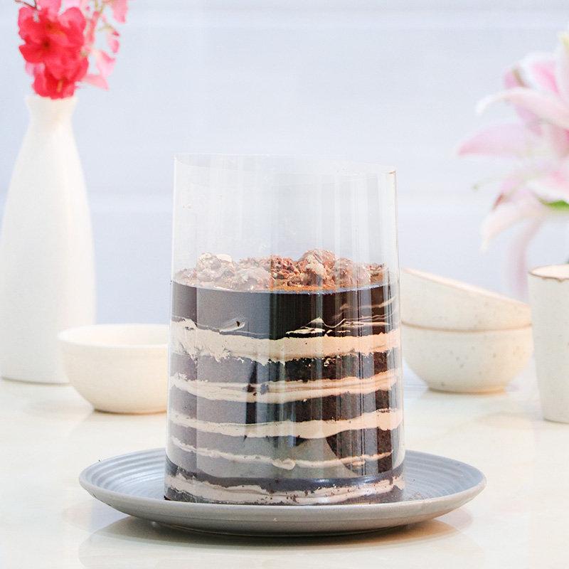 Ferrero on top pull me up cake