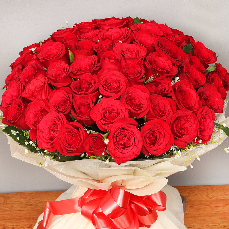 Send Bunch of Red Roses
