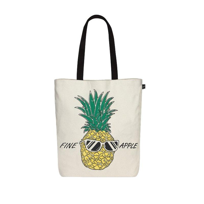 Fine Apple Tote Bag: FineApple Simple Tote Bag