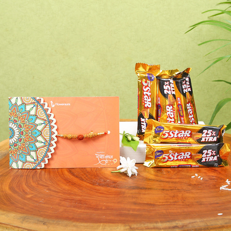Five Starry Rakhi