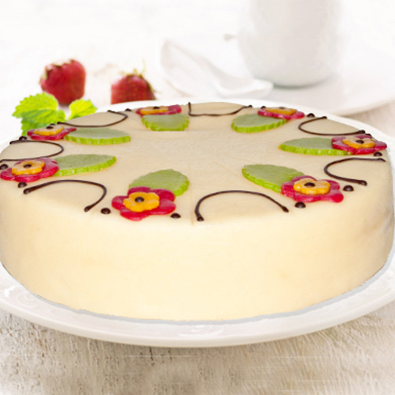 Floral Lubek Art Cake
