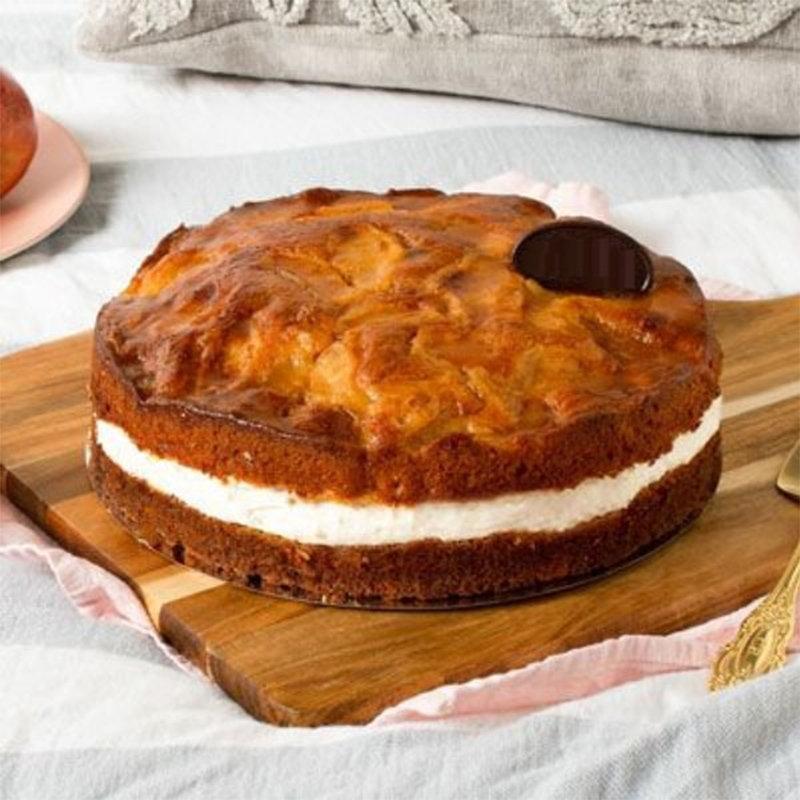 Flourless Apple Pear Cake