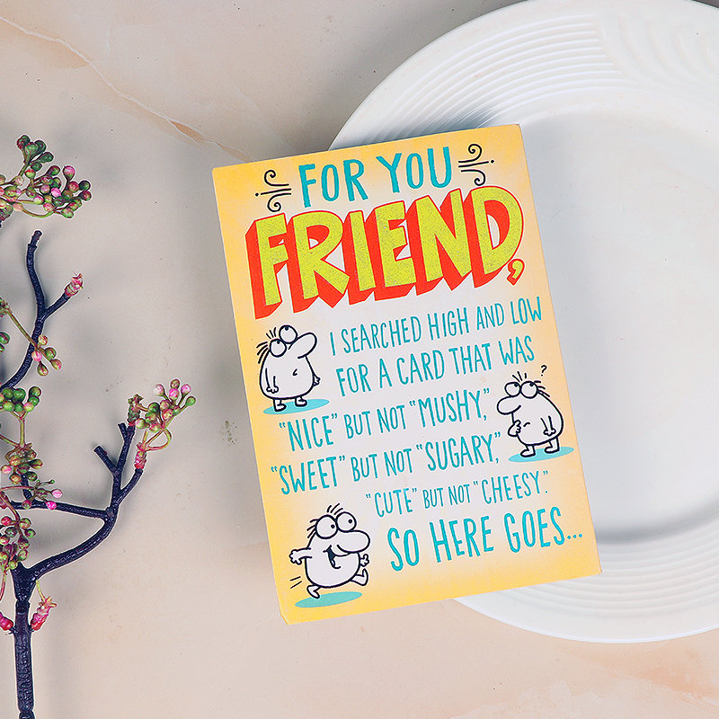 For You Friend Card