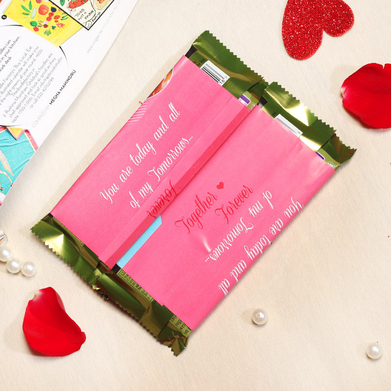 Forever Chocolate Gift For Your Valentine Partner