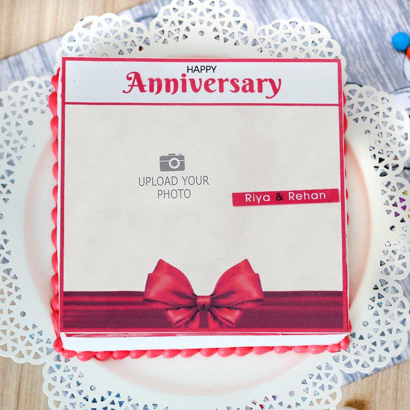 Anniversary Theme Cake