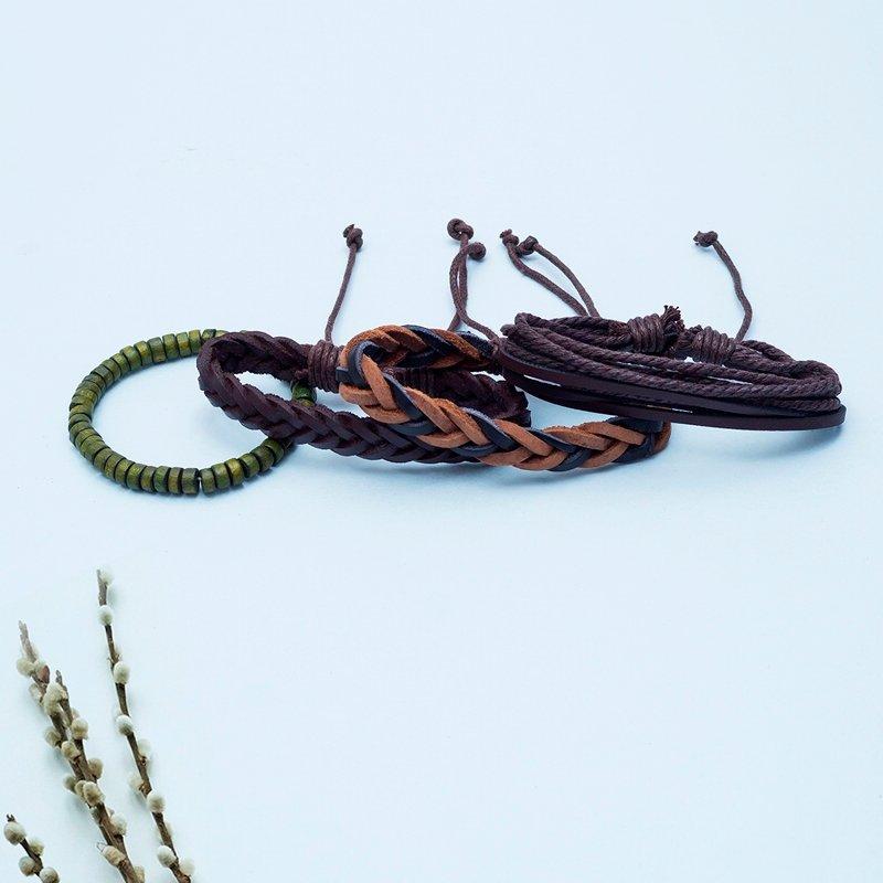 Four Dark Bracelets