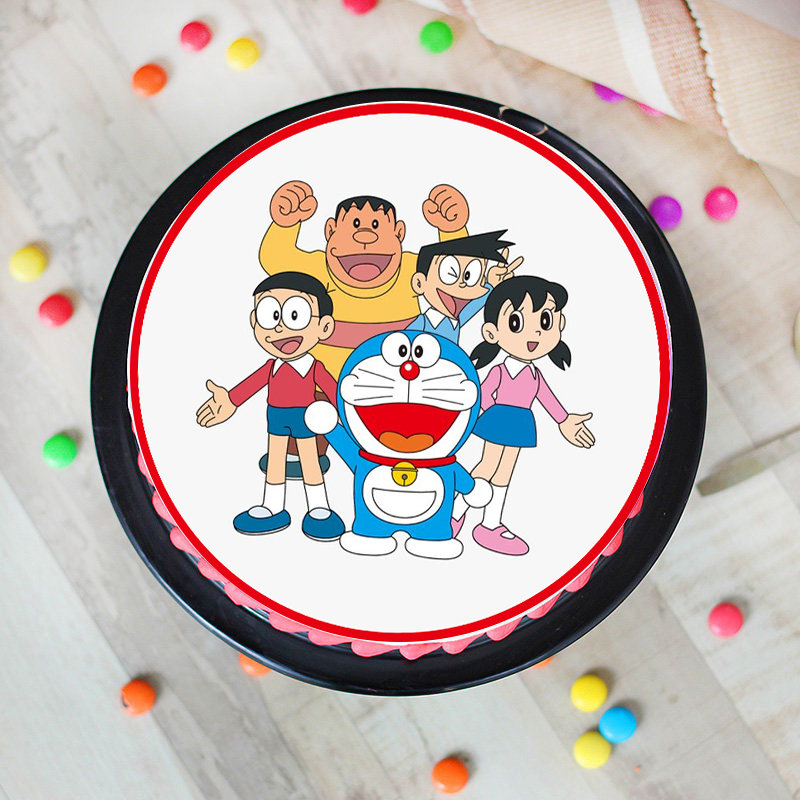 Friend Doremon Cake