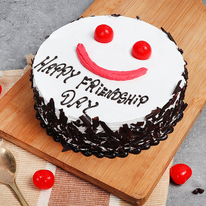 Friendship Day Special Black Forest Cake