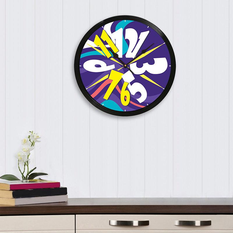 Funky Analog Wall Clock