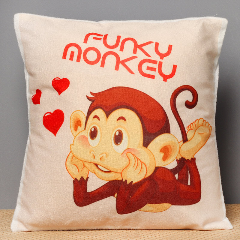 Funky Monkey Cushion for Brother