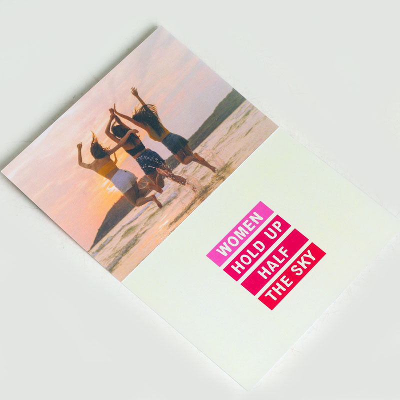 Future Is Female Greetings - Personalised Greeting Card
