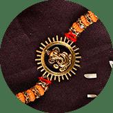 Shop Ganesh Rakhi Online