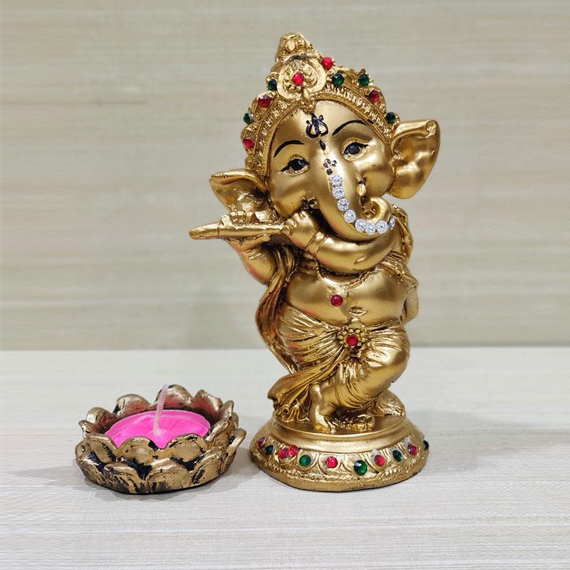 Ganesha N Diya Set