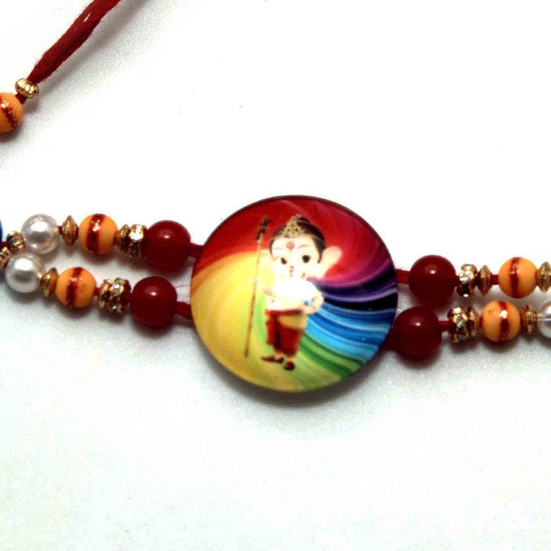 Ganesha Rakhi Rocher Combo