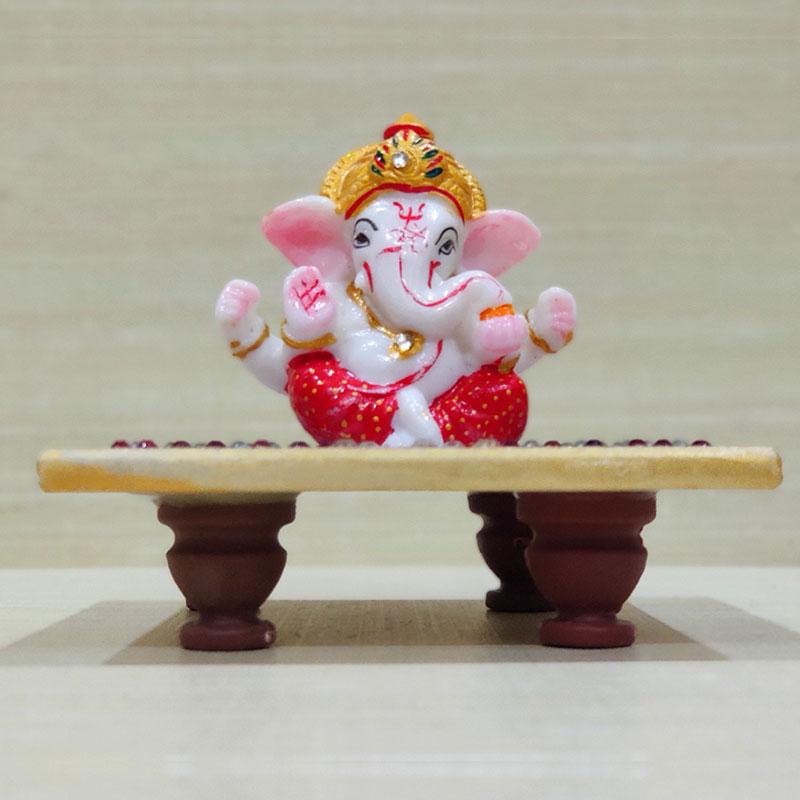 Ganpati On Chowki