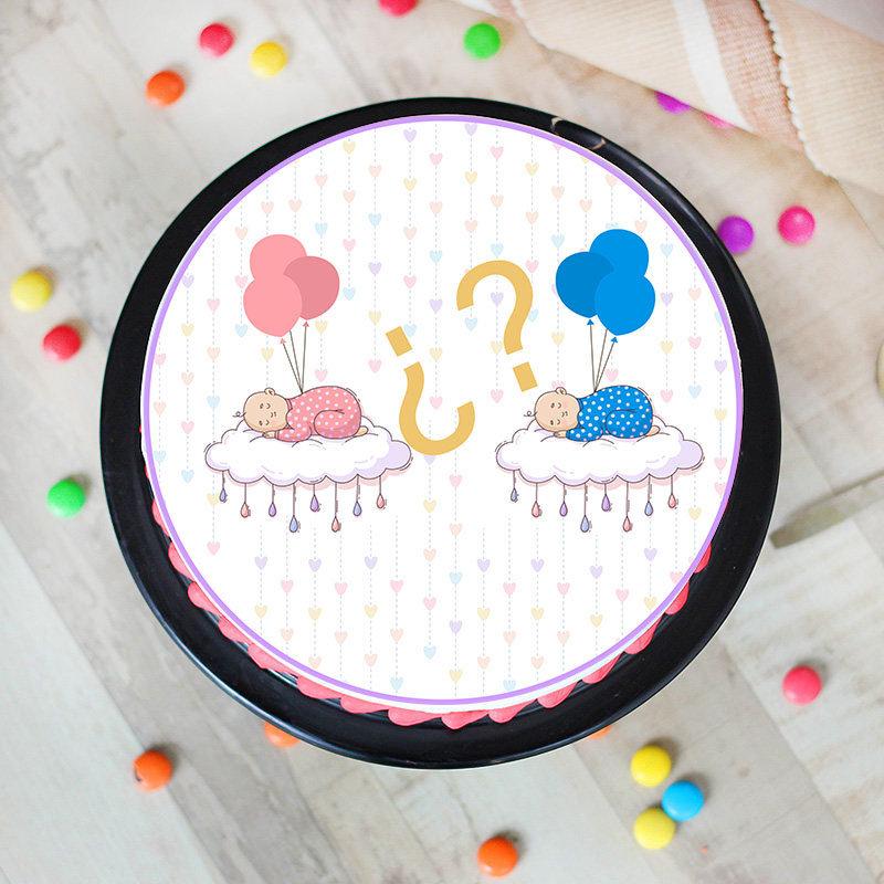 Baby Surprise Gender Reveal Cake