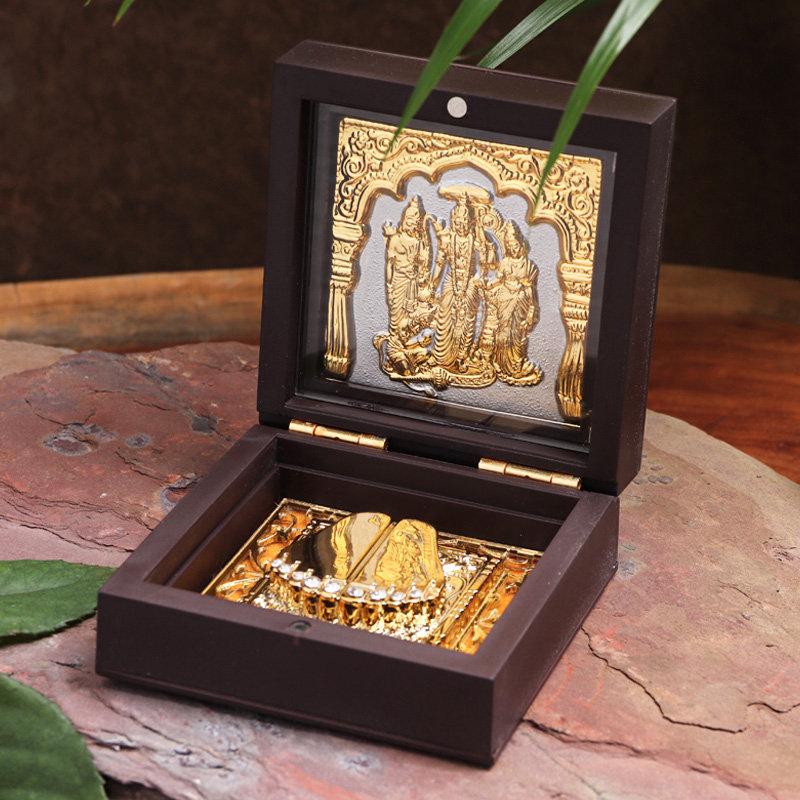 Gold Plated Ramayan Idols