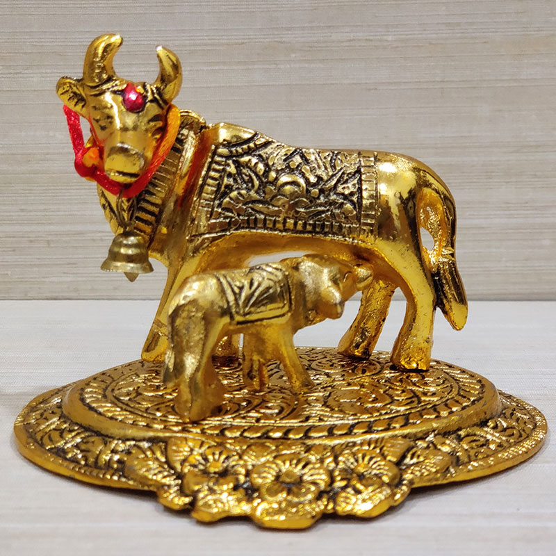 Golden Cow N Calf