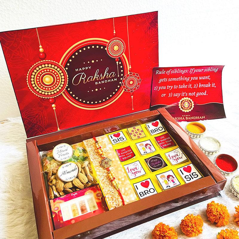 Grand Rakhi assorted box