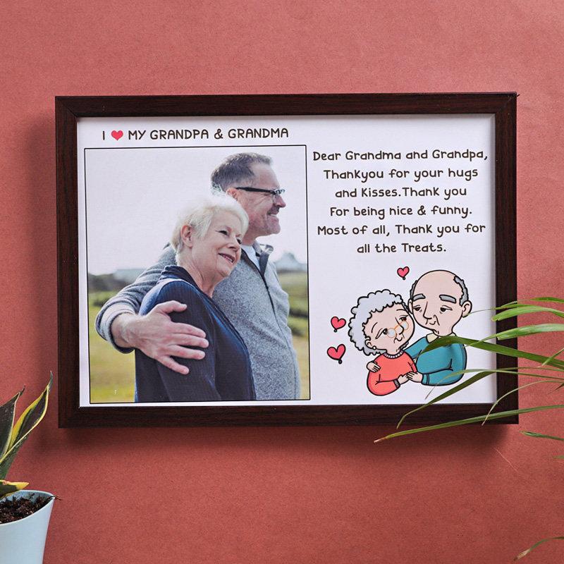 Grandparents Love Photo Frame