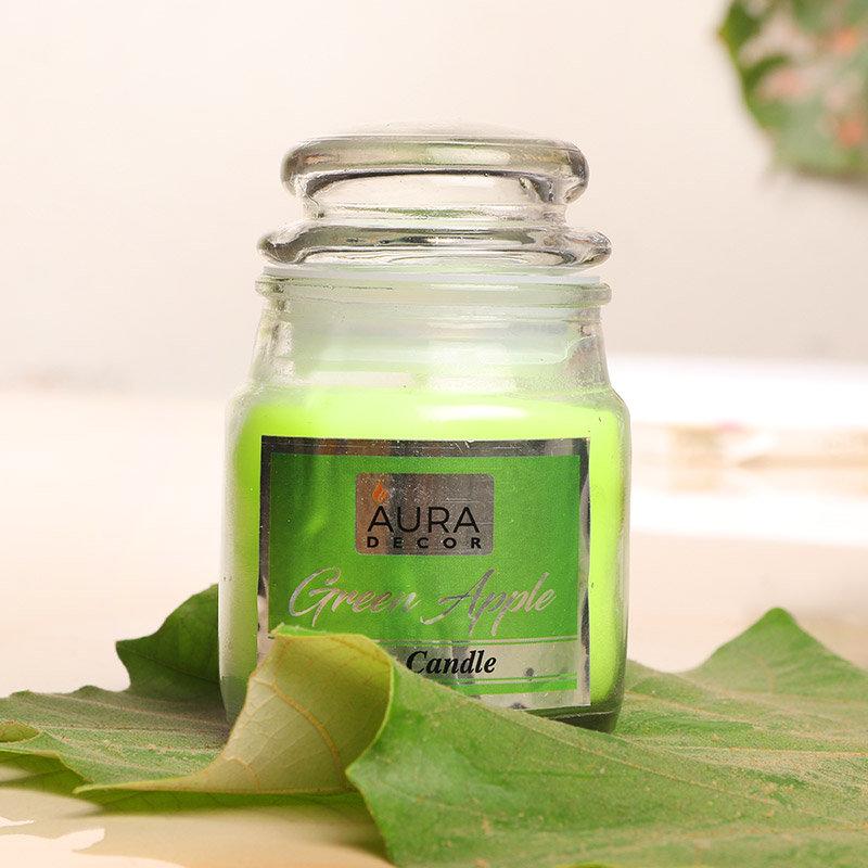 Green Apple Jar Candle