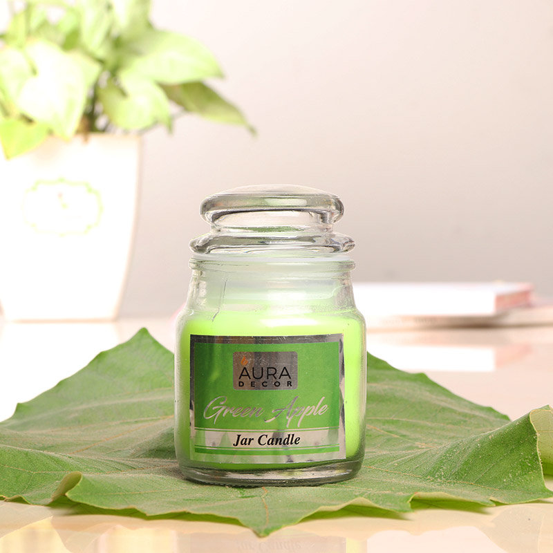 Green Apple Jar Candle - A Perfect Gift For Her