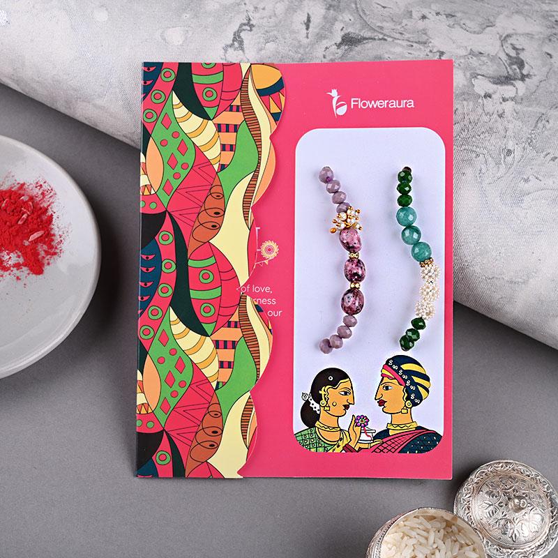 designer rakhi and rakhi gift for brother