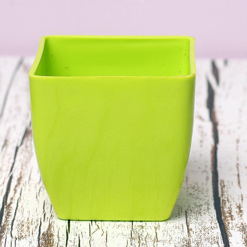 Green Plastic Vase