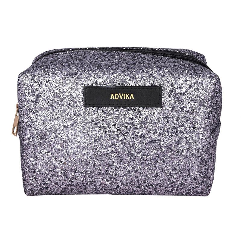Grey Glitter Travel Kit