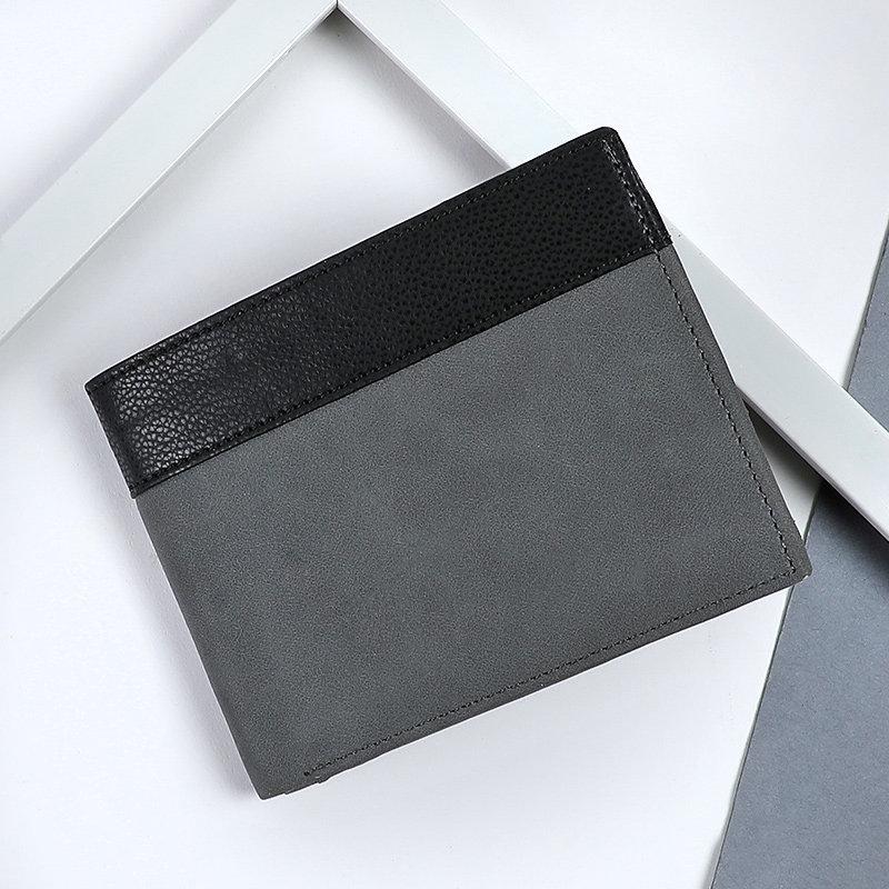 Grey N Black WalletA Premium Wallet With Rfid Protection