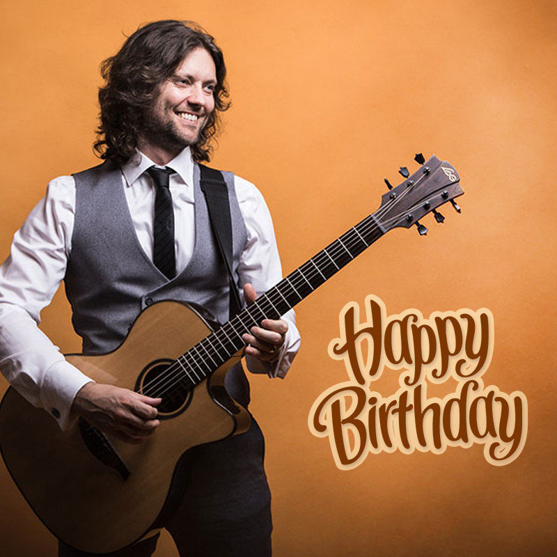 Happy Birthday Song with Guitar