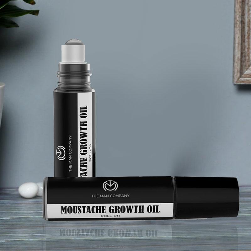 Mustache Growth Oil Opened Display - Hair N Beard Dream Combo