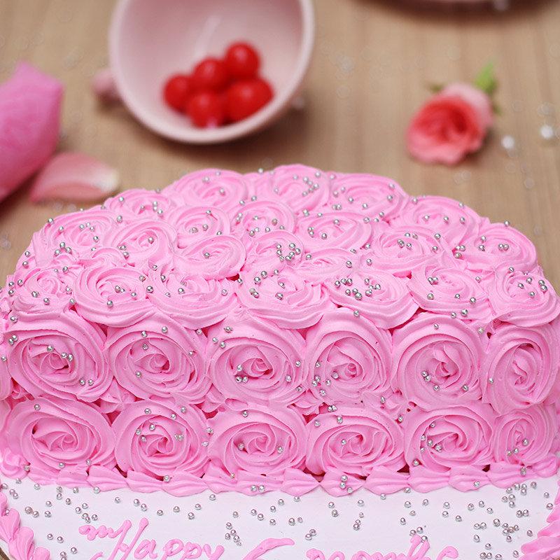 Zoom view of Half Birthday Cake