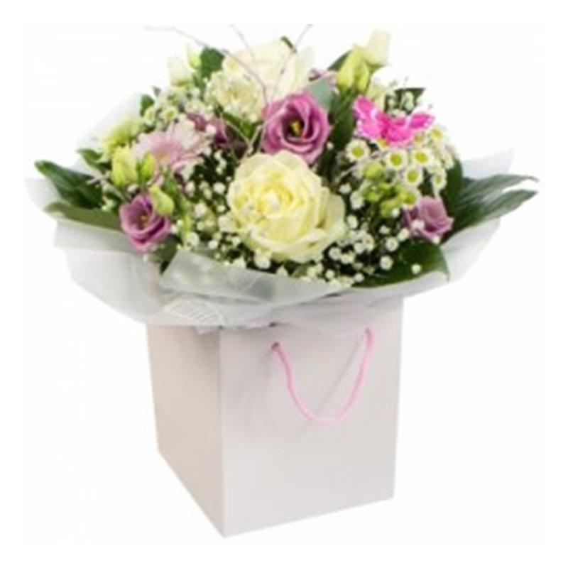 Handtied Pastel Bouquet