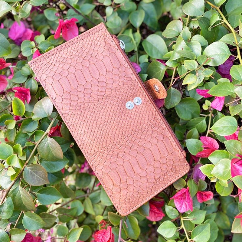 Handy Tan Wallet
