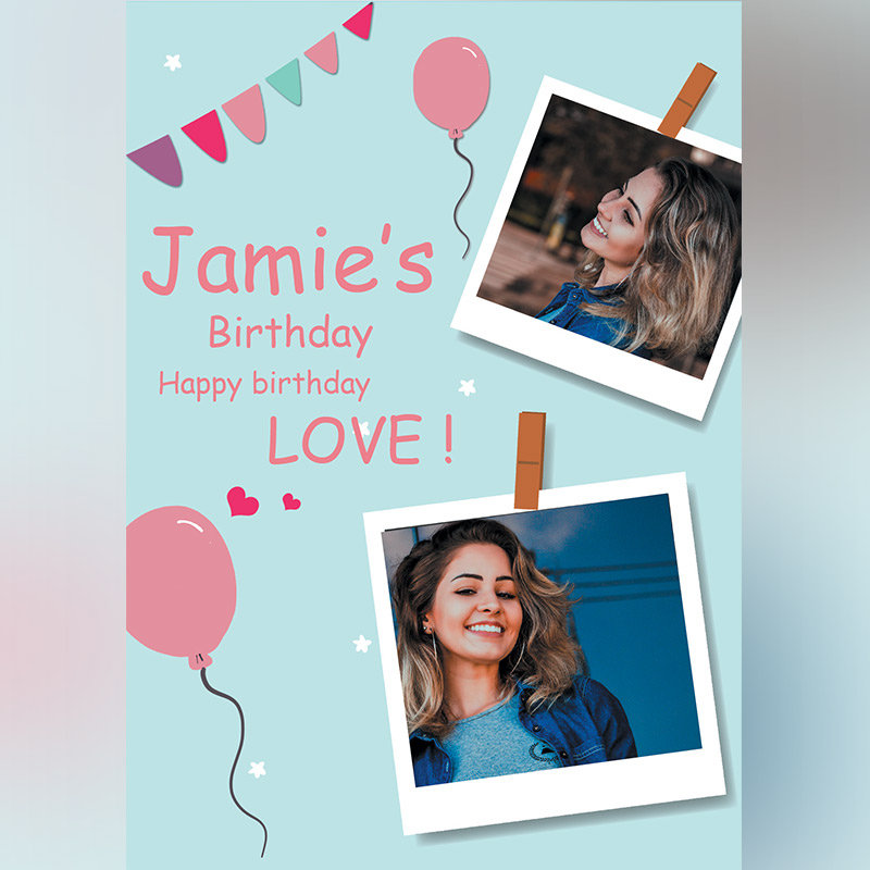 Personalised Happy Birthday E-Cards