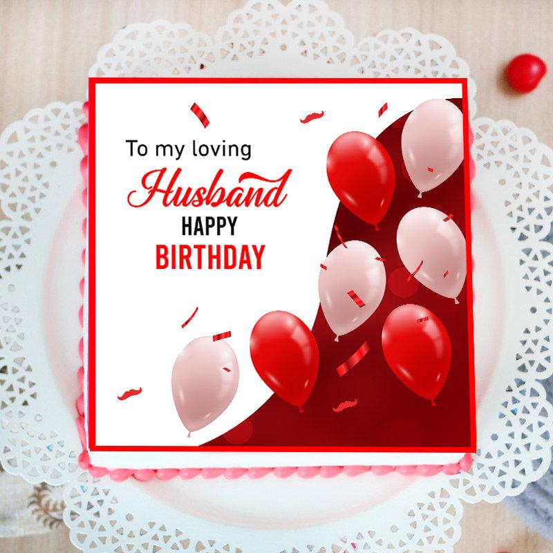 Birthday Cake for Husband